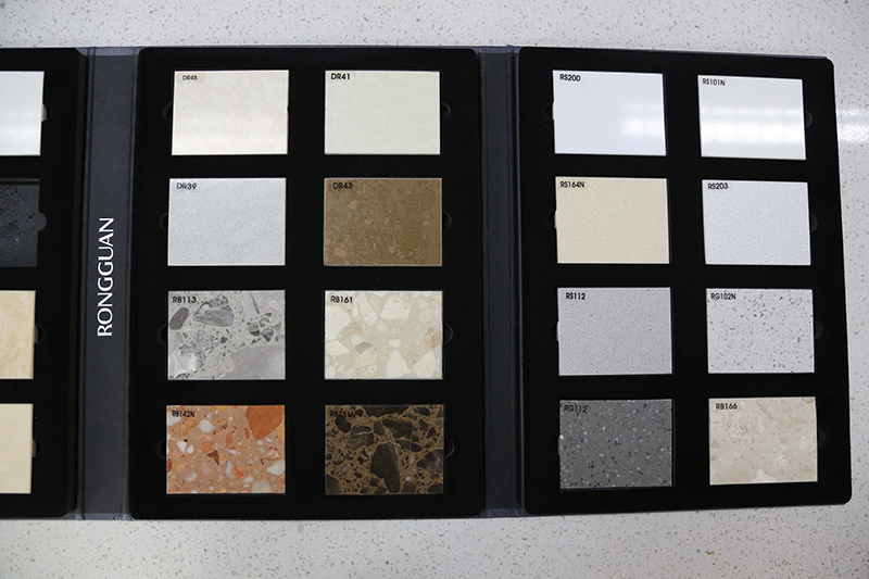 Ceramic Stone Tile Sample Display Book Quartz Sample Box In ShowroomST-20-3