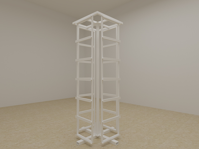 Marble-Rotate-Sample-Display-Stand-Stone-Quartz-Carousel-Display-Tower-ST-52-5