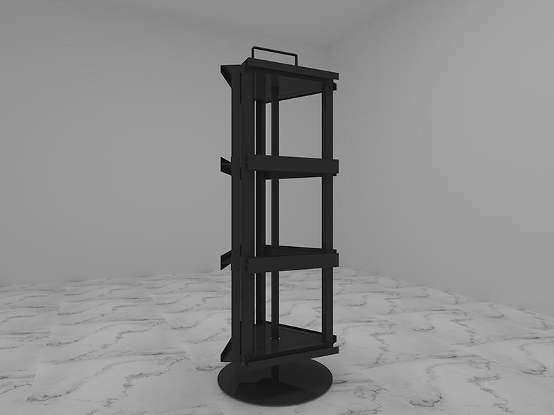 Carousel-Stone-Quartz-Sample-Display-Stand-Rotate-Display-ST-53-3