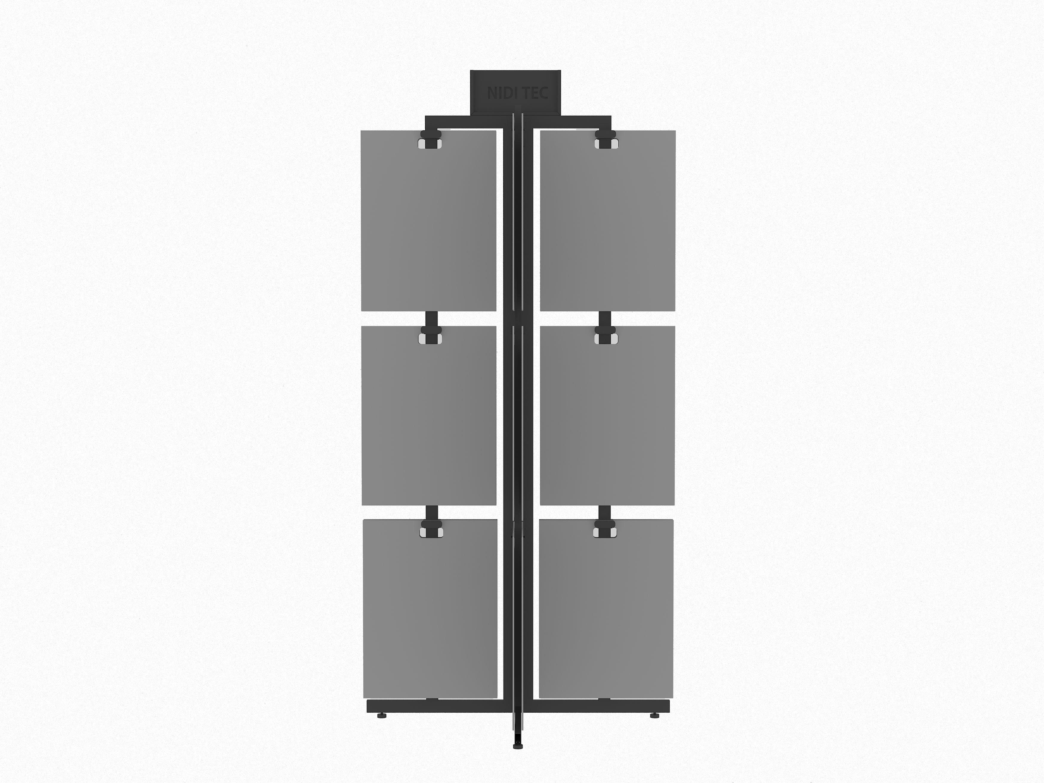 rotate-stone-display-tower-with-MDF-boards-ST-13-2