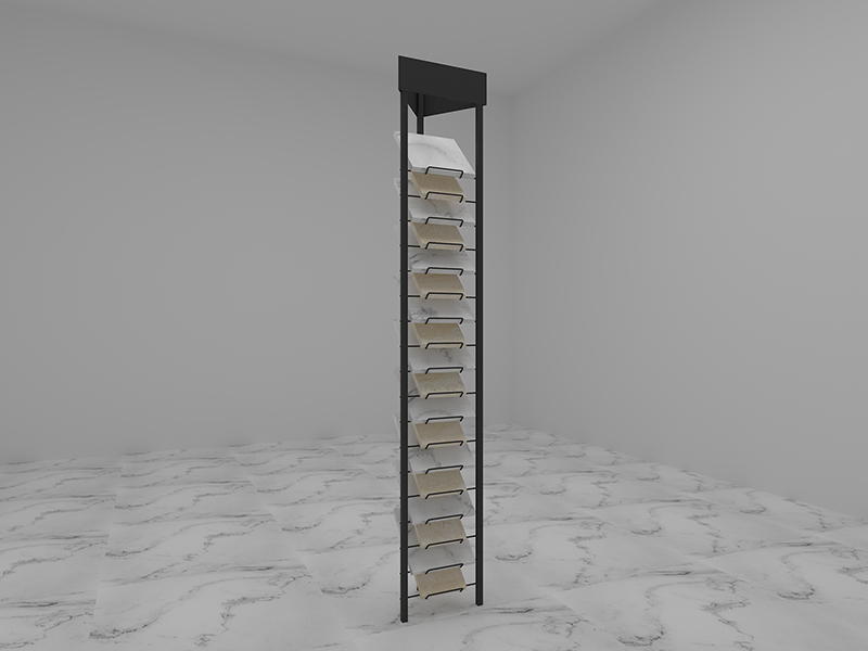 Granite Marble Ceramic Tile Sample Display Rack Stone Display Stand
