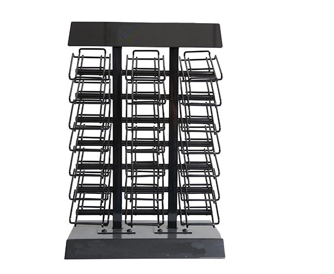 STONE QUARTZ SAMPLE DISPLAY TABLETOP RACK FOR MARBLE