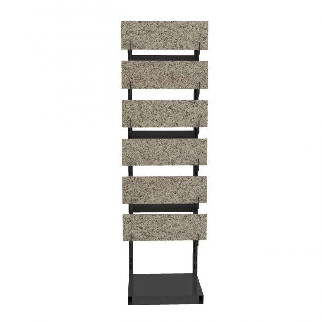 ceramic tile samples for floors step display shelf ST-26-1