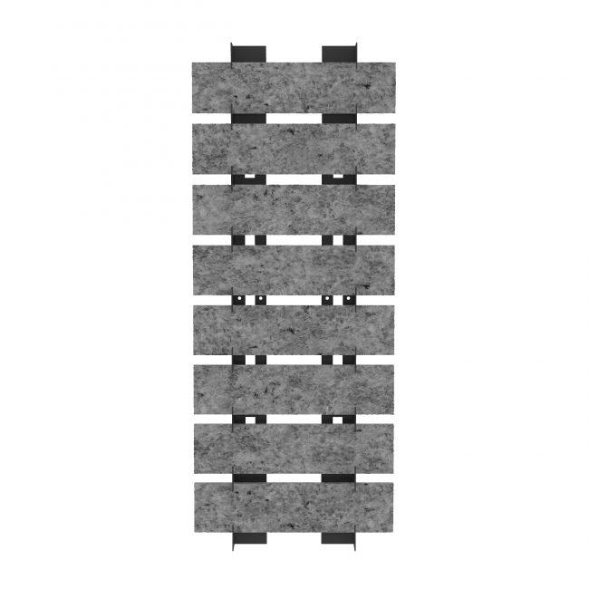 convenient durable metal standing architectural displays ST-23-1