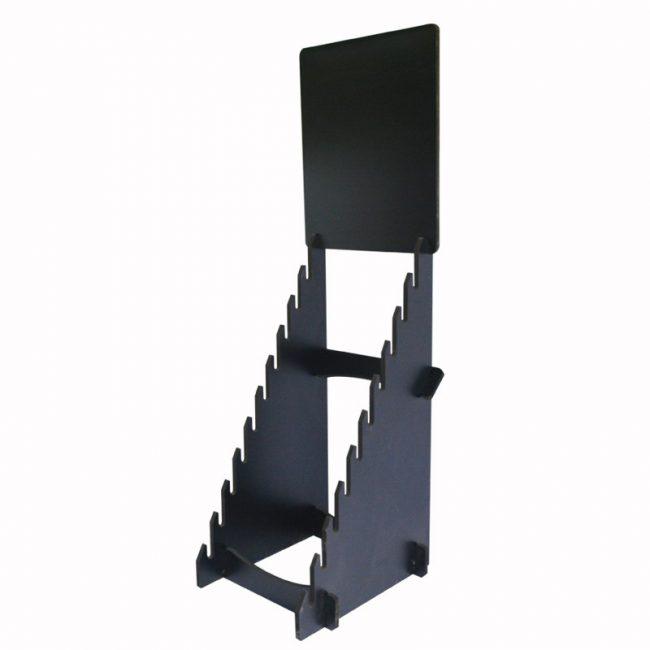custom single side display racks for retail storesST-49-1