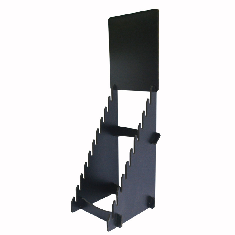 custom single side display racks for retail stores ST-49-1