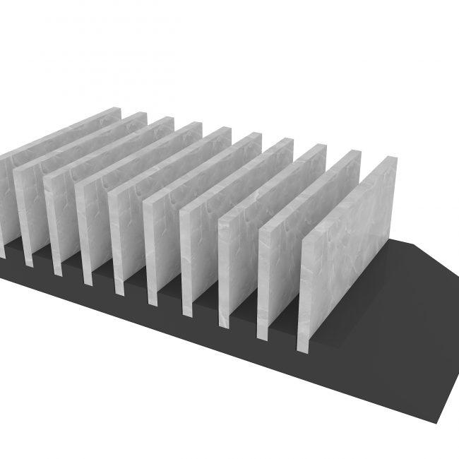 modern tile countertop stand ceramic tile holders ST-33-1