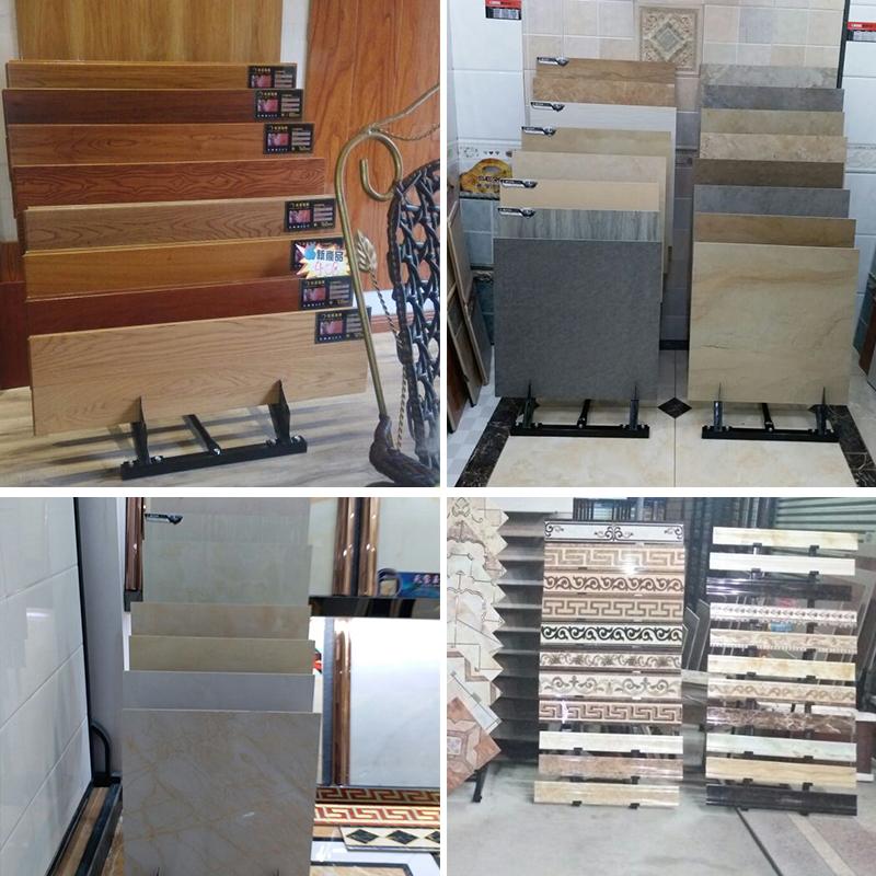 new-ceramic-tile-600-800-line-sample-display-rack-stone-wood-display-floor-display-rack-promotion-ST-89-4