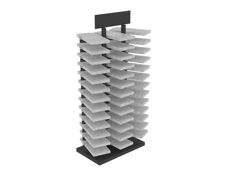 waterfall-tile-design-metal-or-wooden-showroom-display-shelves-ST-100-2