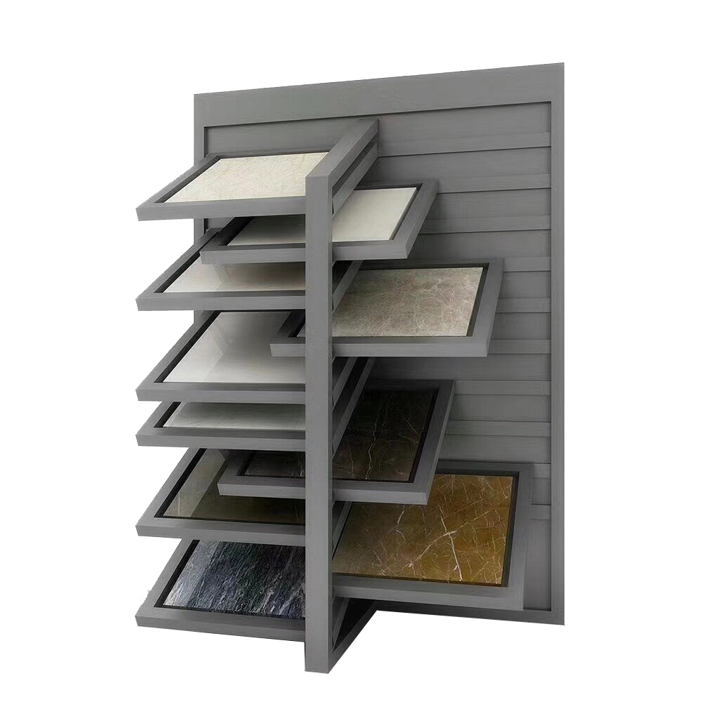 Flexible Quartz Drawer Display Stand For Showroom ST-129-1