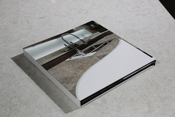 Portable Quartz Marble Sample Display Book ST-133-2