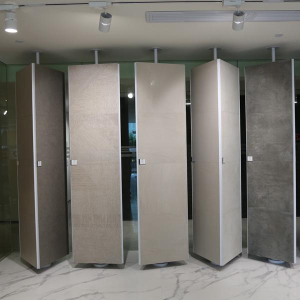 Eye Catching Tile Display Racks With Steel For Showroom ST 169 2