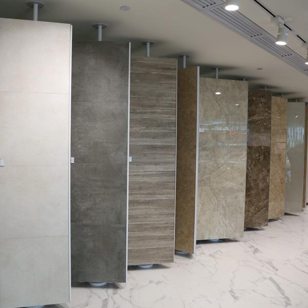 Eye-Catching Tile Display Racks With Steel For Showroom ST-169 4
