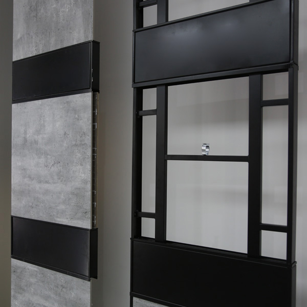 Fashion Tile Diplay Stands With Steel For Shop ST 175 2