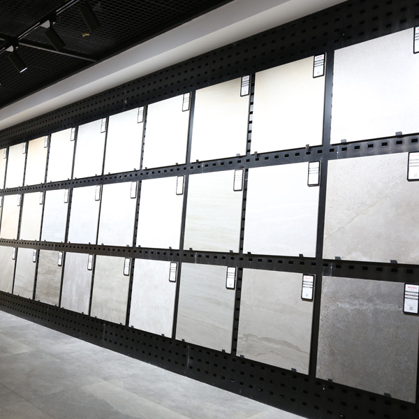 Popular Custom Cut Tile With Steel For Showroom ST-192