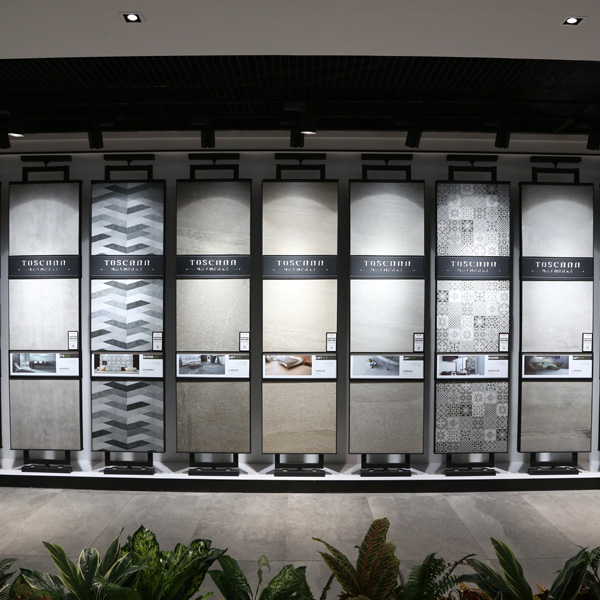 Professional Tile Display Stands With Metal For Showroom ST 196 1