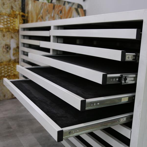 Top Quality Ceramic Tile Display Racks With Metal For Showroom ST-199 4