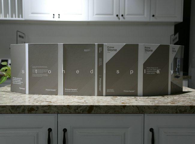 Quartz marble stone sample display folder7