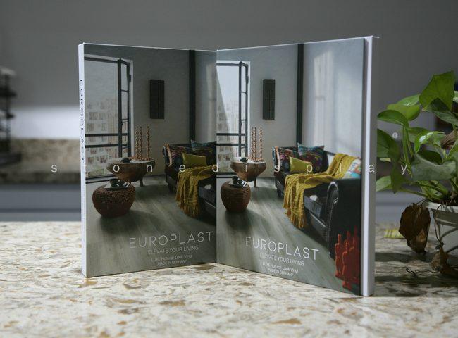 Tri-fold quartz sample display book1