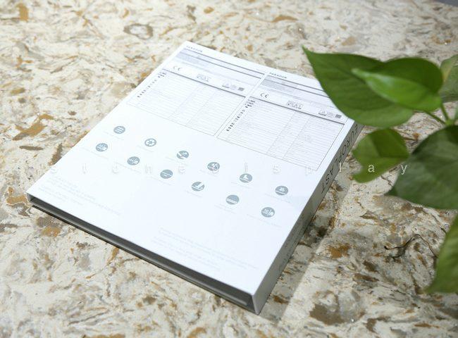 Tri-fold quartz sample display book4