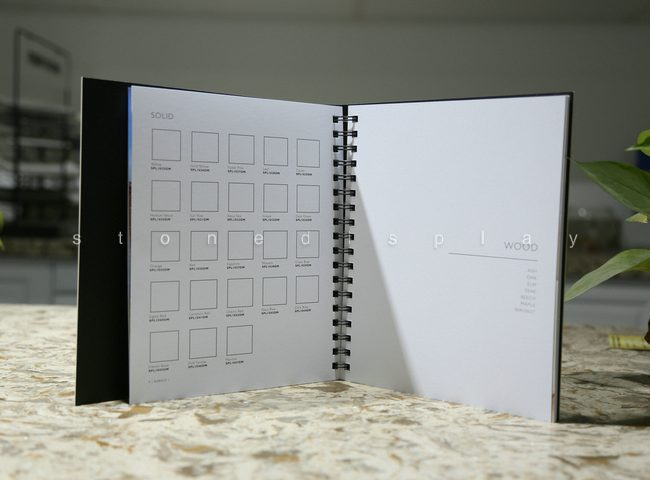 Quartz stone sample catalog3